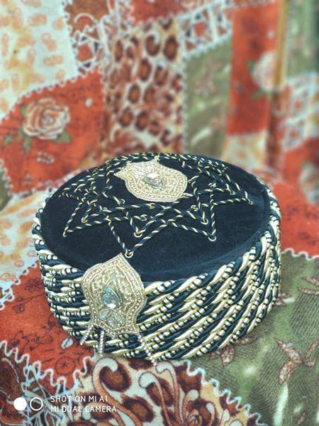 Afgani Islamic Topi Naalein