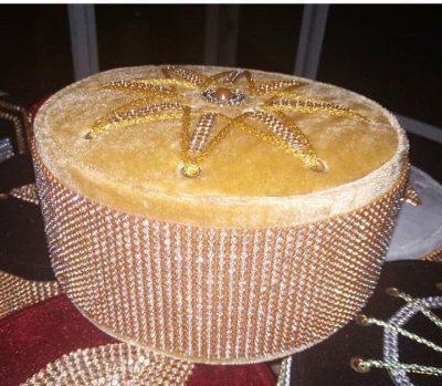 fancy diamond topi