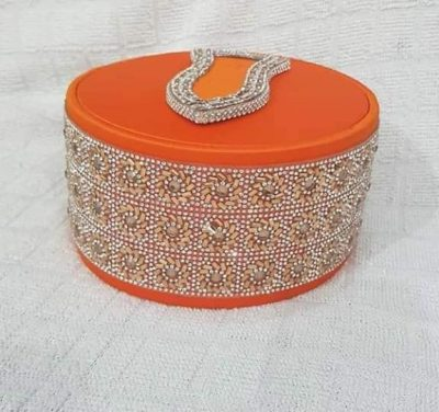 Fancy Diamond Orange Topi