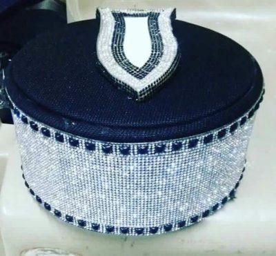 Diamond Shabbir Barkati Silver topi