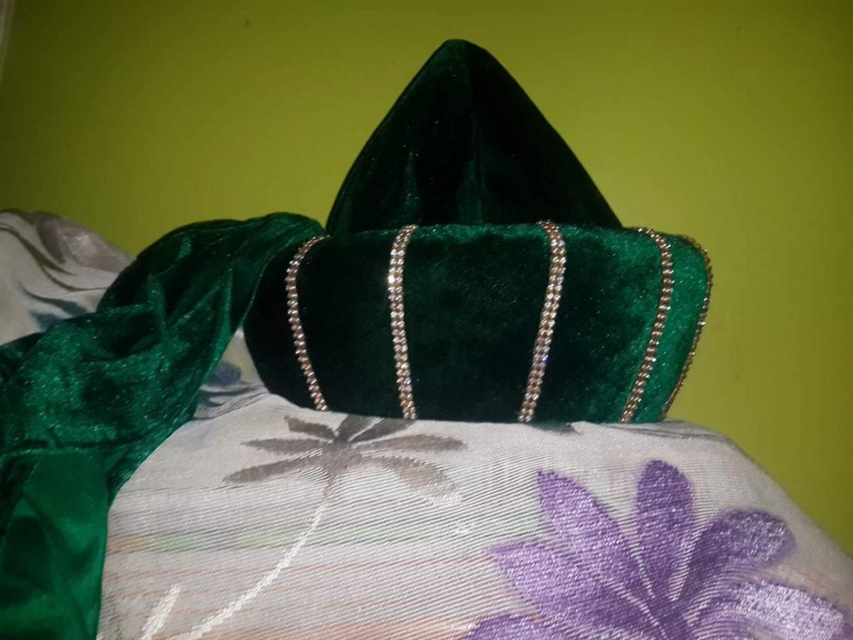 Green Ashrafi Taaj shareef