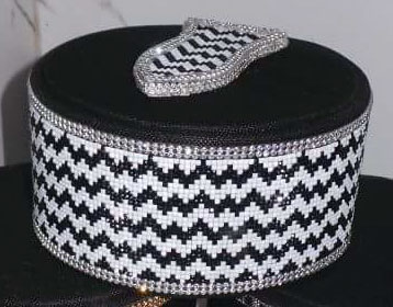 Alahazrat Naalein Topi Diamond