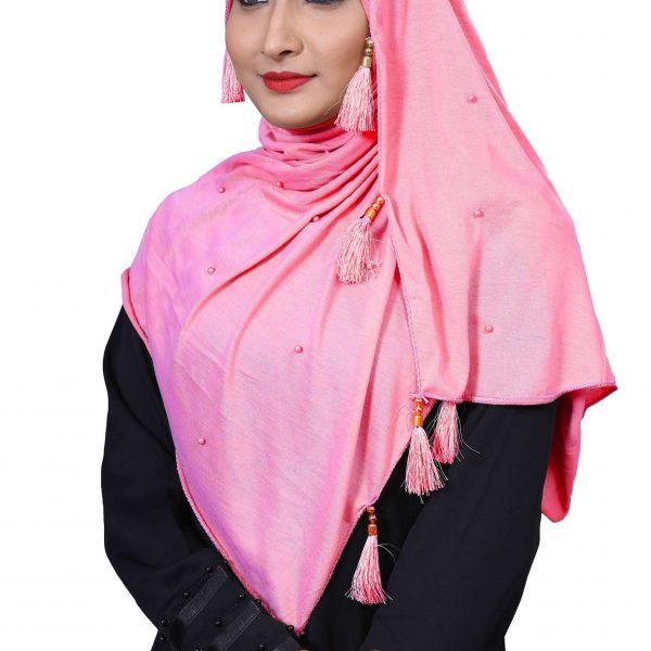 Hijab Rozy Pink Model-6