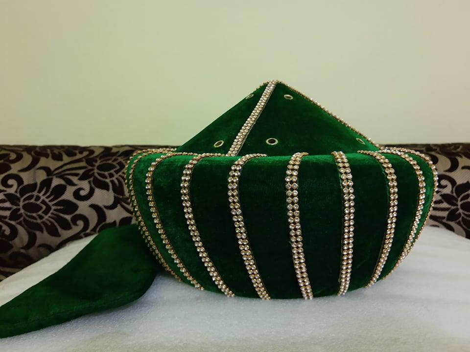 Green Ashrafi taj Noorani miyan