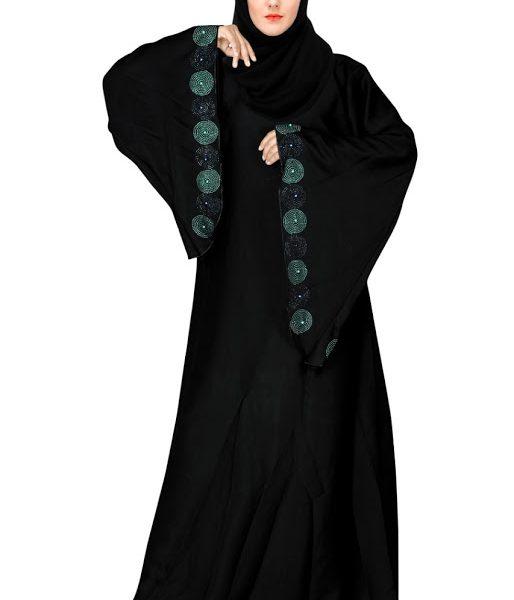 Burkha Nida Fabric Black-1
