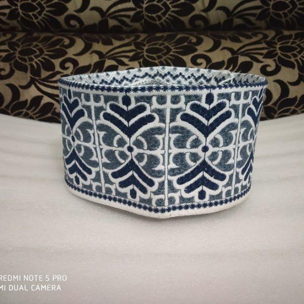 Barkati topi grey blue model 17