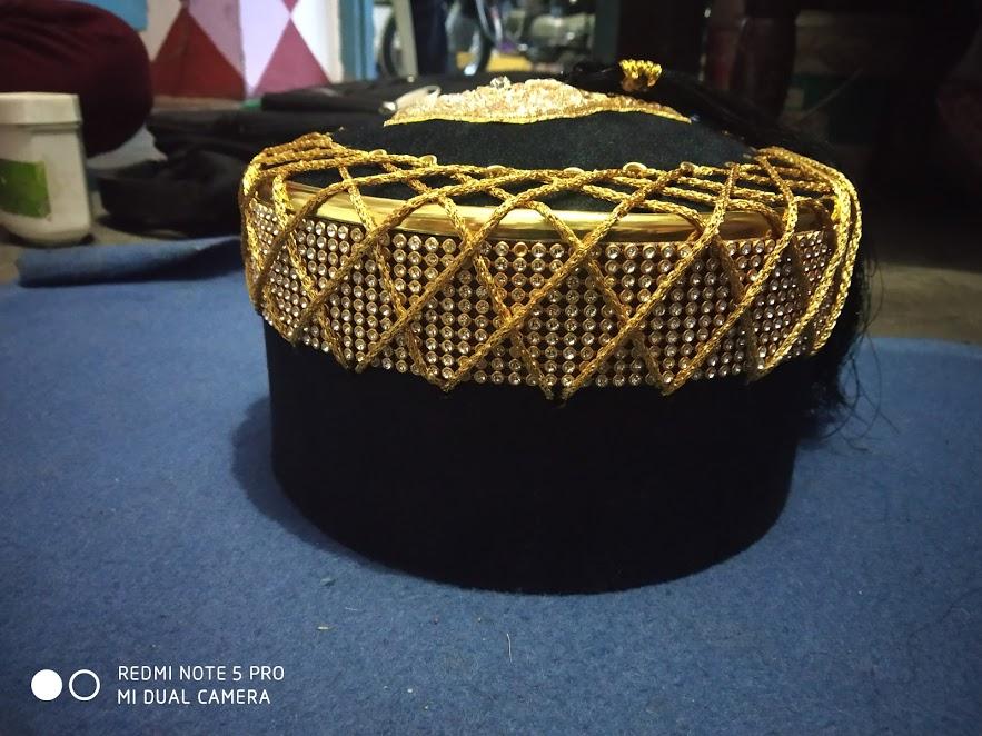 Shabbir Barkati Naalein Topi Gold
