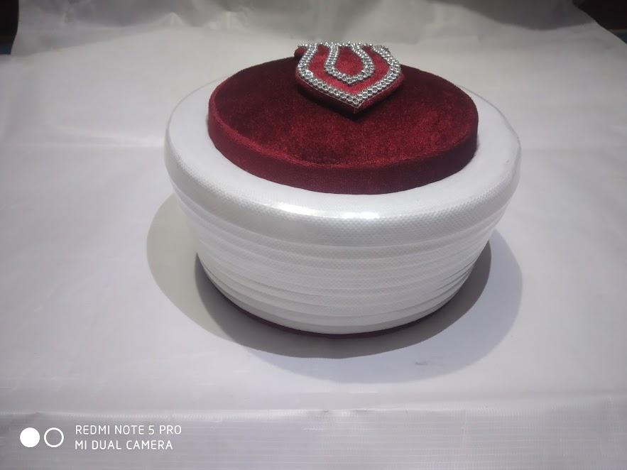 Peer Saqib Shami Gumbad Design Topi