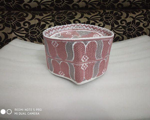 Barkati Topi Pink Rose Model 22 -1