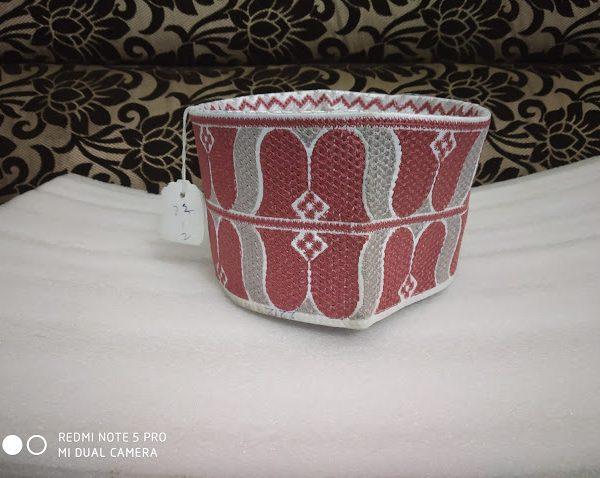 Barkati Topi Dark Pink Model 23