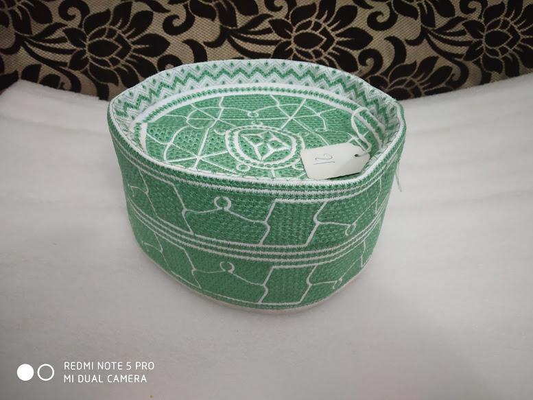 Barkati Topi Ocean Green Model 46-1