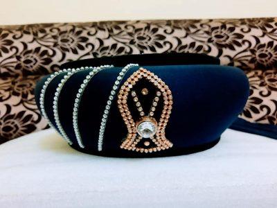 Navy Blue Imamah