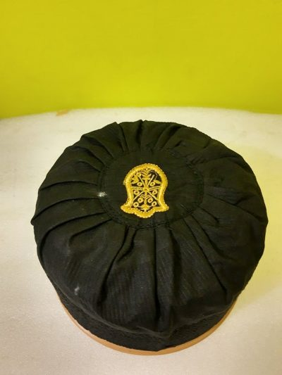 Asaduddin Owaisi Cap With Naalein Black Color2