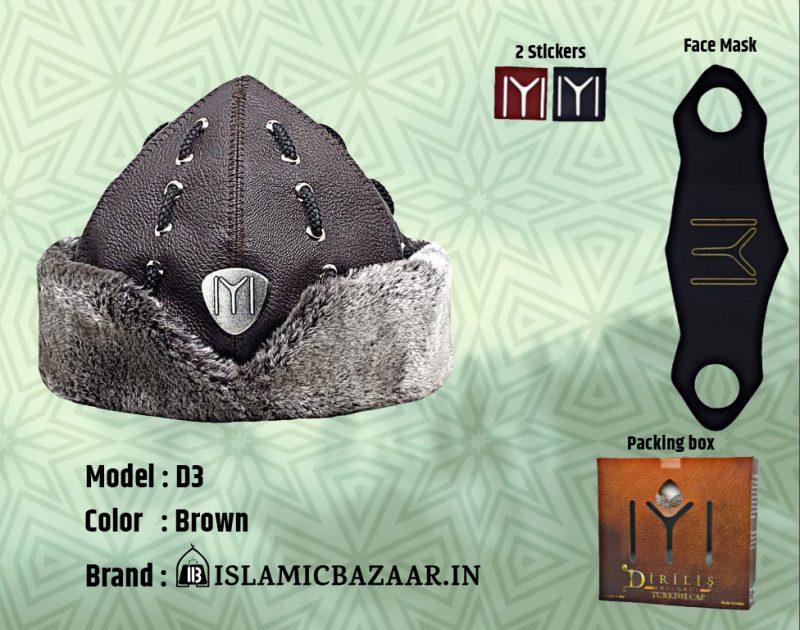 Buy Turkish Ertugrul Ghazi Cap D3 Bork Hat