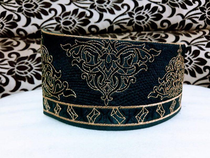 Barkati Black golden flower Model No 271220