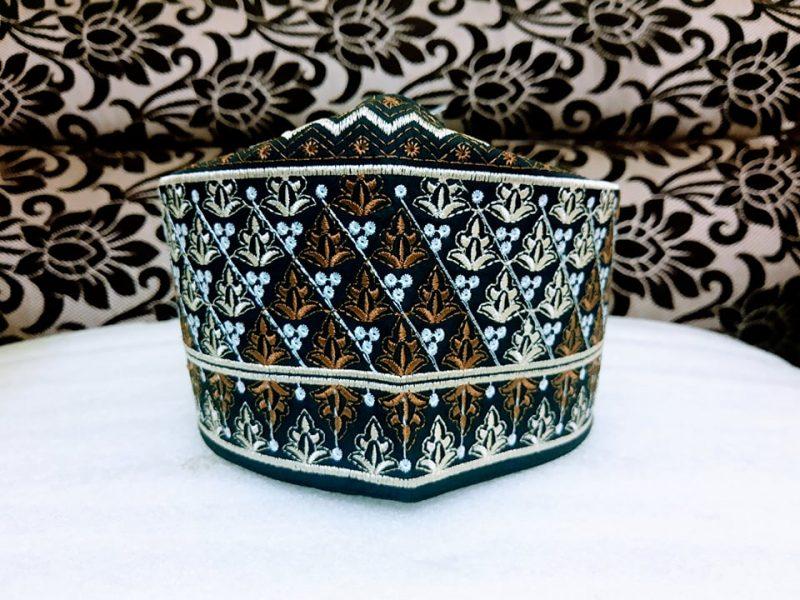 Barkati Omani Topi Brown Model No 241220