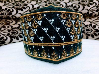Barkati Omani Topi GoldenBlack Model No 241220