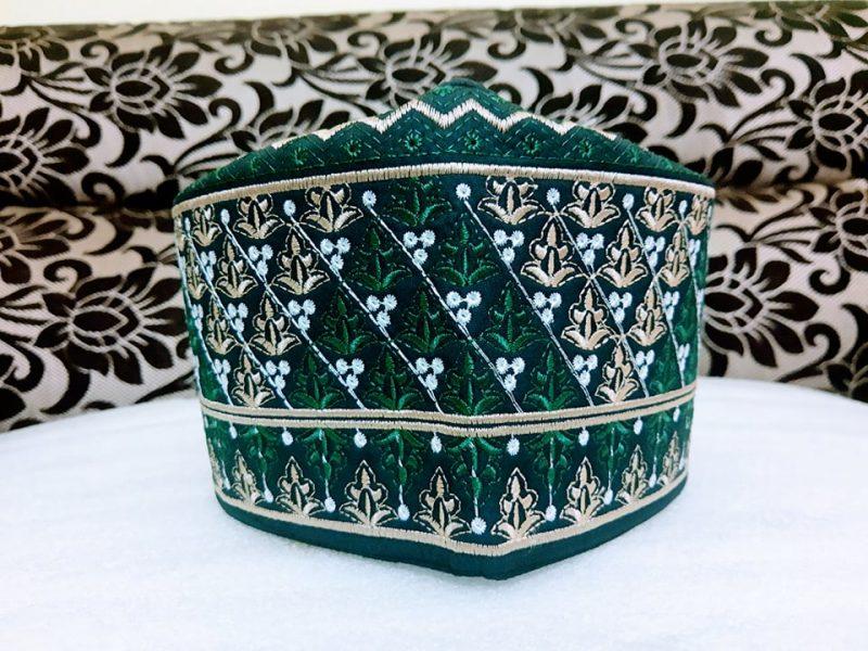 Barkati Omani Topi Green Model No. 241220