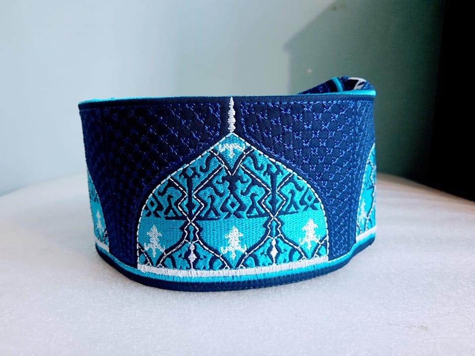 Barkati Baghdadi Dark Blue New Design Topi