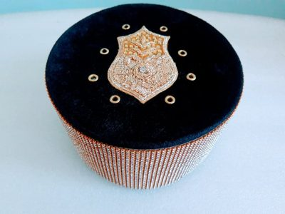 Shabbir Barkati Diamond Black Naalein Top-2