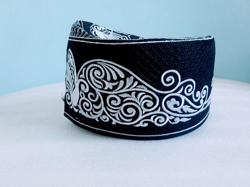 Barkati New White-Black Design Top1