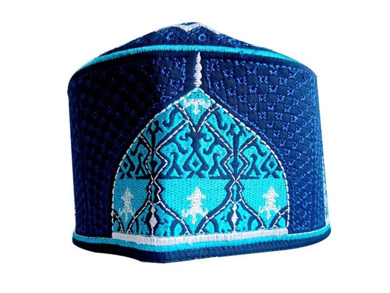 Barkati Baghdadi Dark Blue Topi