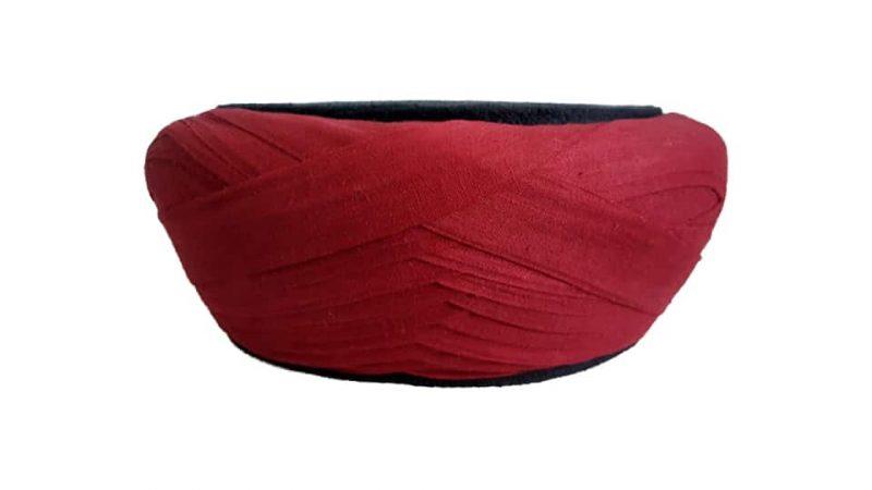 Turkish Nakshbandi Red Amama-2