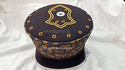 Qadri Islamic topi with Nalain Paak cap
