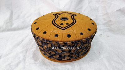 Ashrafi Designer Islamic topi with Nalain Paak | Islamicbazaar 2021